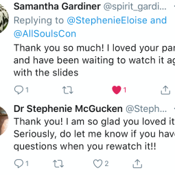 Feedback from All Souls Con 2018